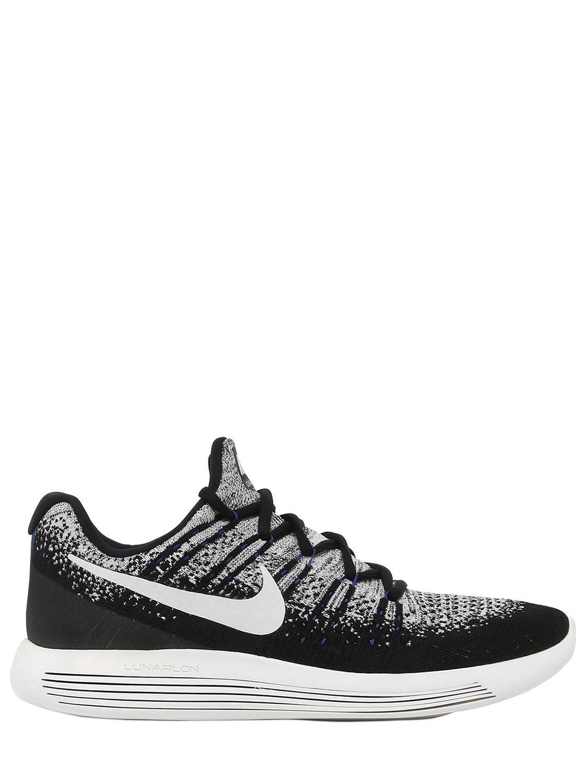 brand new 814c1 d3bd5 Nike. Men s Black Nikelab Lunarepic Flyknit ...