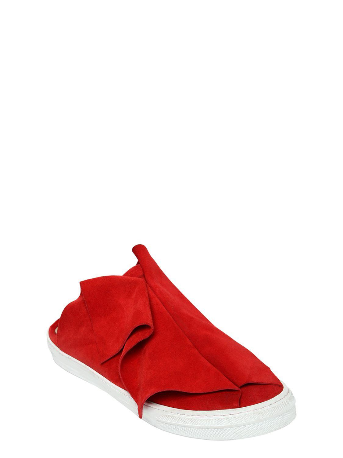 PORTS 1961 20MM LAYERED SUEDE MULE SNEAKERS Ep18vEz0Mu