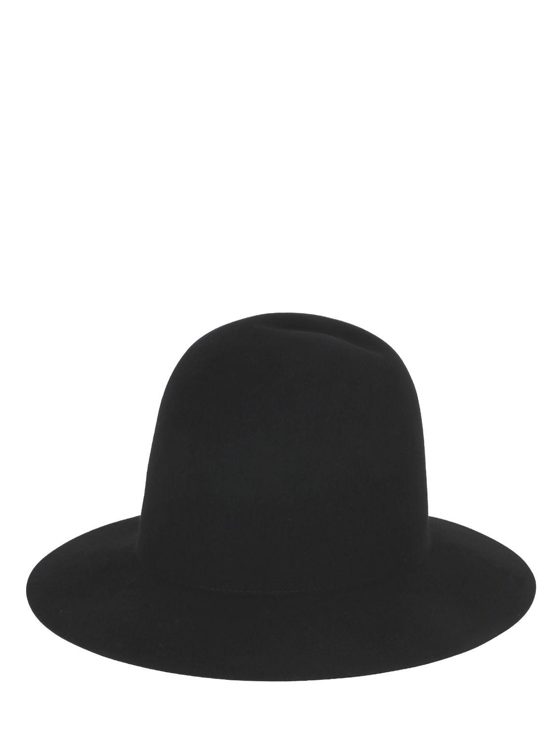 517668d01 Lyst - Gucci Lapin Felt Brimmed Hat in Black for Men