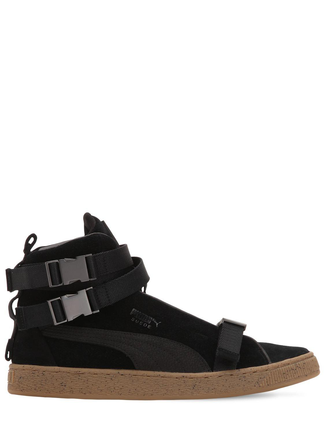 Lyst - Puma Select The Weeknd Suede Classic Sneakers in Black for Men 762bdebfd
