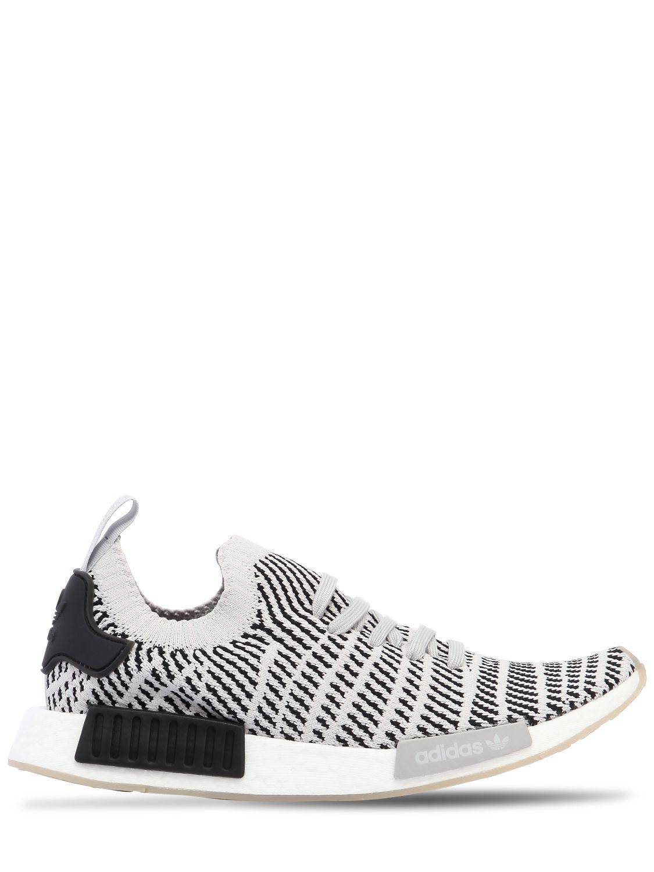 c984091c6 adidas Originals Nmd R1 Stlt Primeknit Sneakers in Gray for Men - Lyst