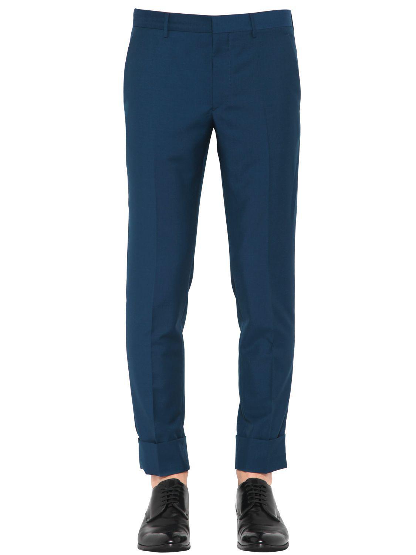 Mohair and wool pants Prada 9wXuBgjP