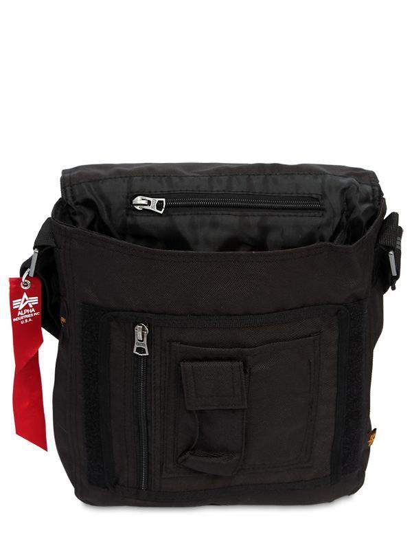 c135d13c24 Alpha Industries Big A Logo Oxford Utility Bag in Black for Men - Lyst