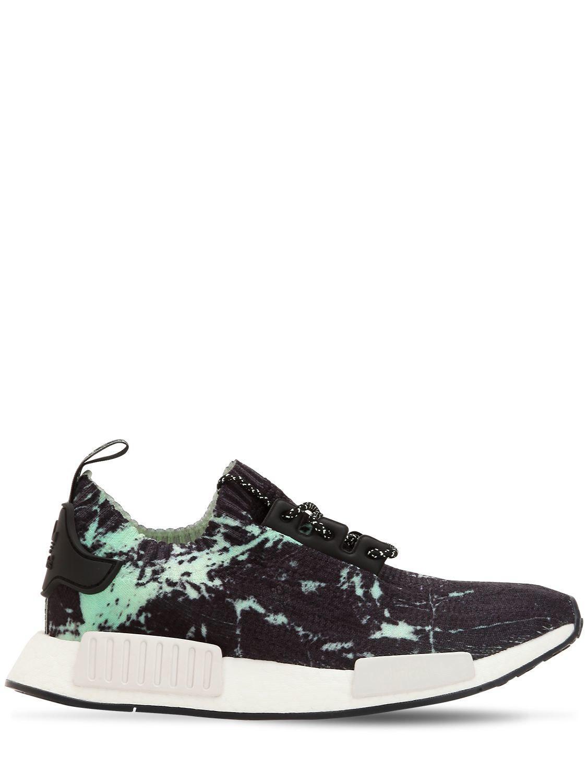 d41492383 adidas Originals Nmd R1 Primeknit Sneakers in Black - Lyst