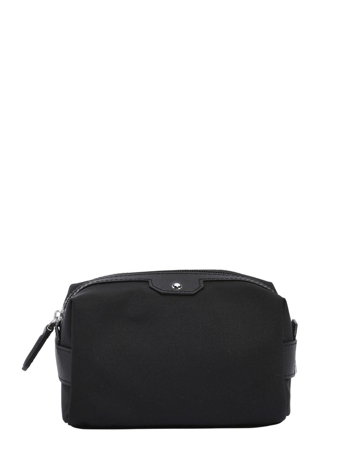 8ccd61320bb6b Montblanc Small Sartorial Jet Toiletry Bag in Black for Men - Save ...