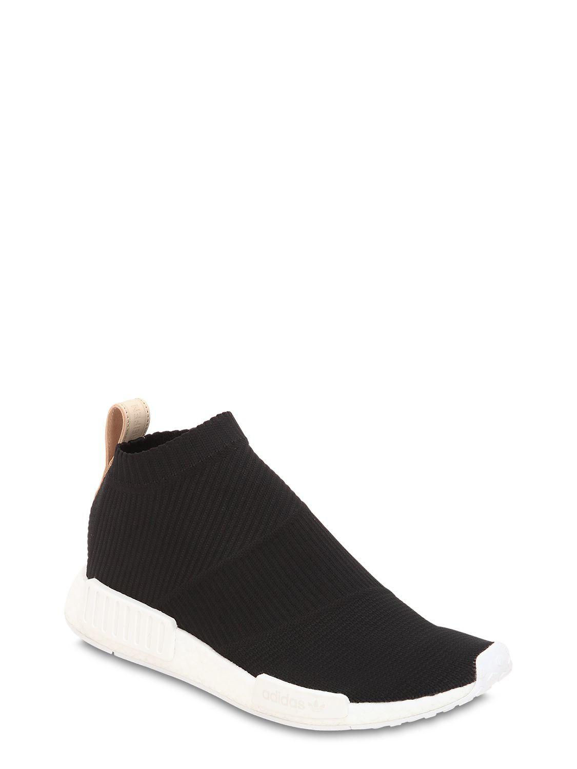 25212a8fb Lyst - adidas Originals Nmd Cs1 Primeknit Sneakers in Black for Men - Save  45%
