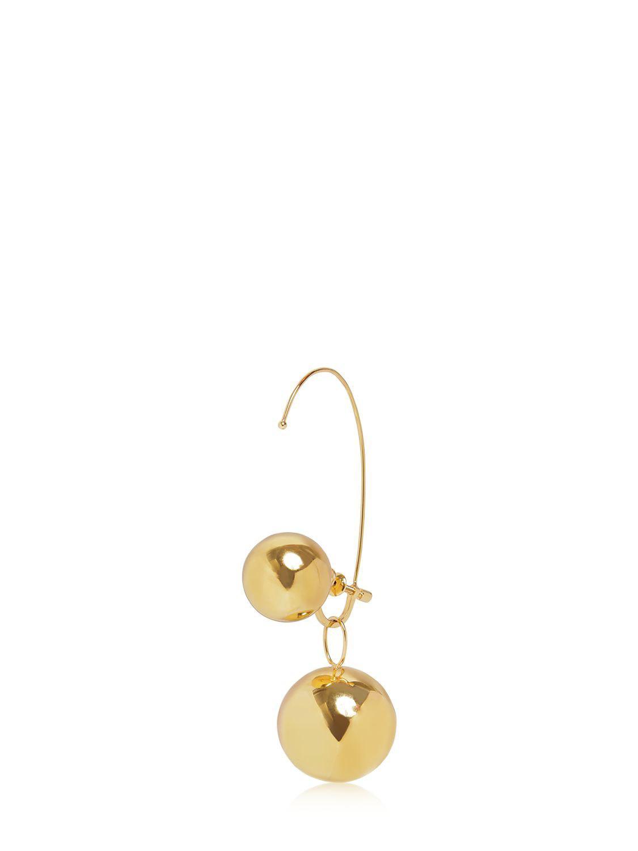 Maison Martin Margiela Stone Earrings in Metallics KfpYfQ8K