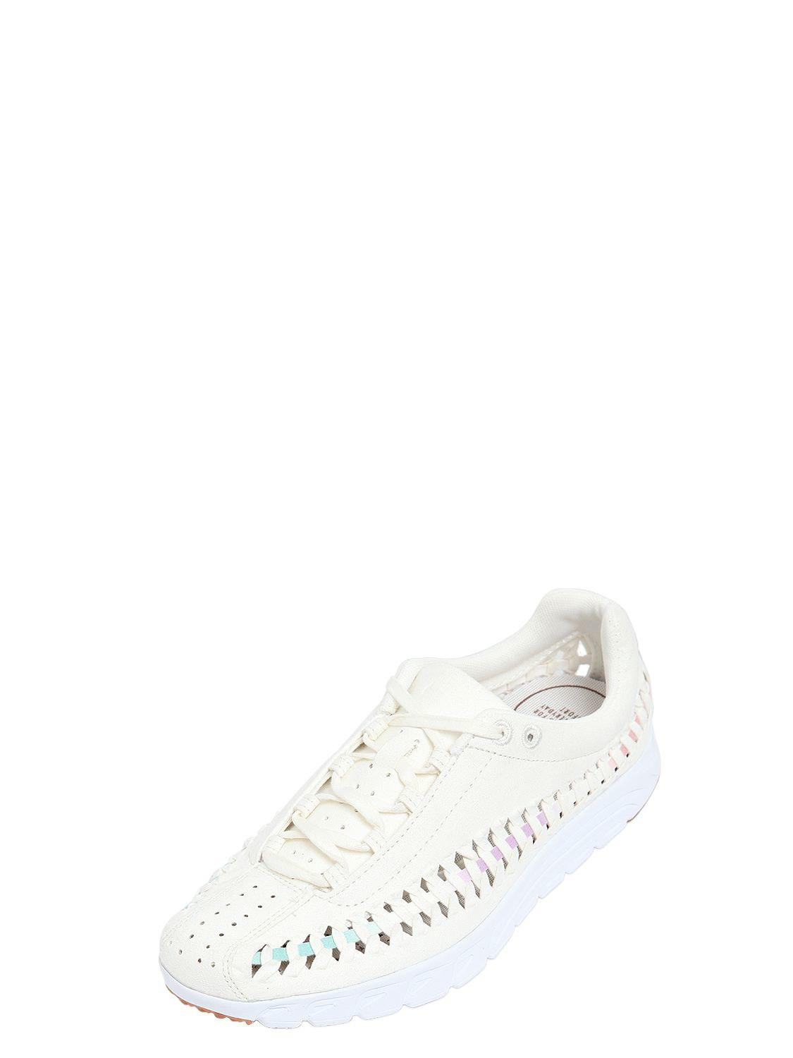 3155dae46a076c Nike - White Mayfly Woven Suede Sneakers - Lyst. View fullscreen