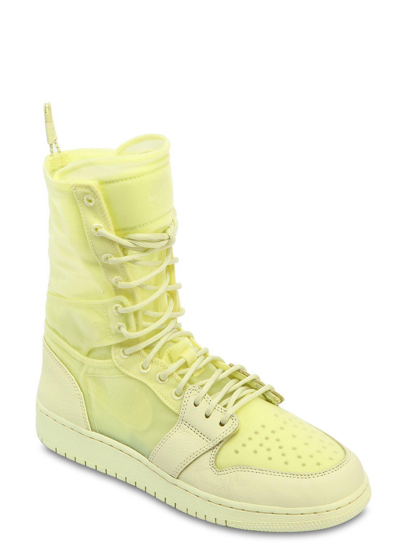 8f1cc5172 Lyst - Nike Air Jordan 1 Explorer Xx Sneaker Boots in Yellow