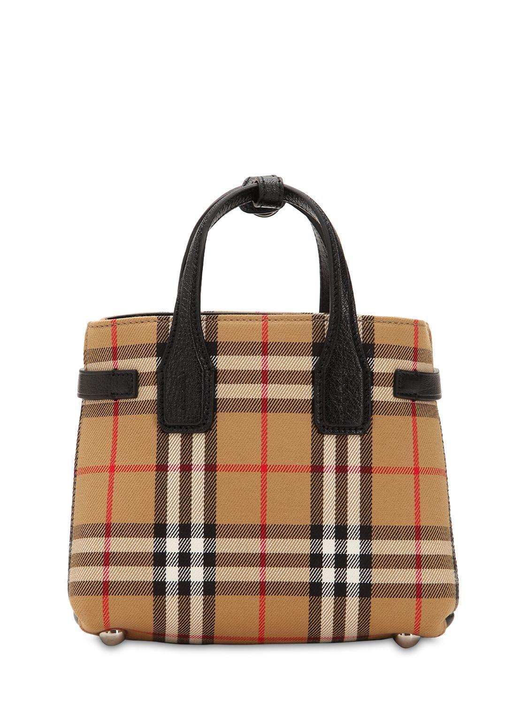 c80f6402042 Lyst - Burberry Tasche Aus Canvas Und Leder