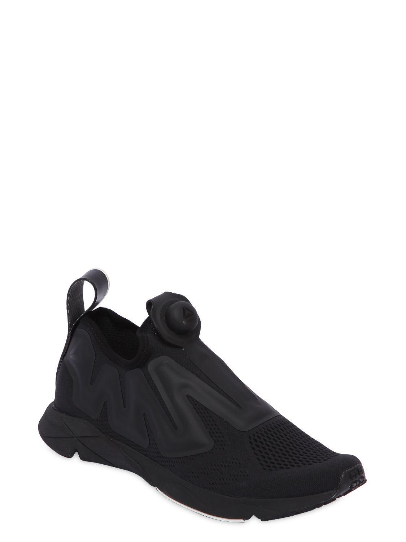 Lyst Reebok Pump Supreme Mesh Sneakers in Black for Men