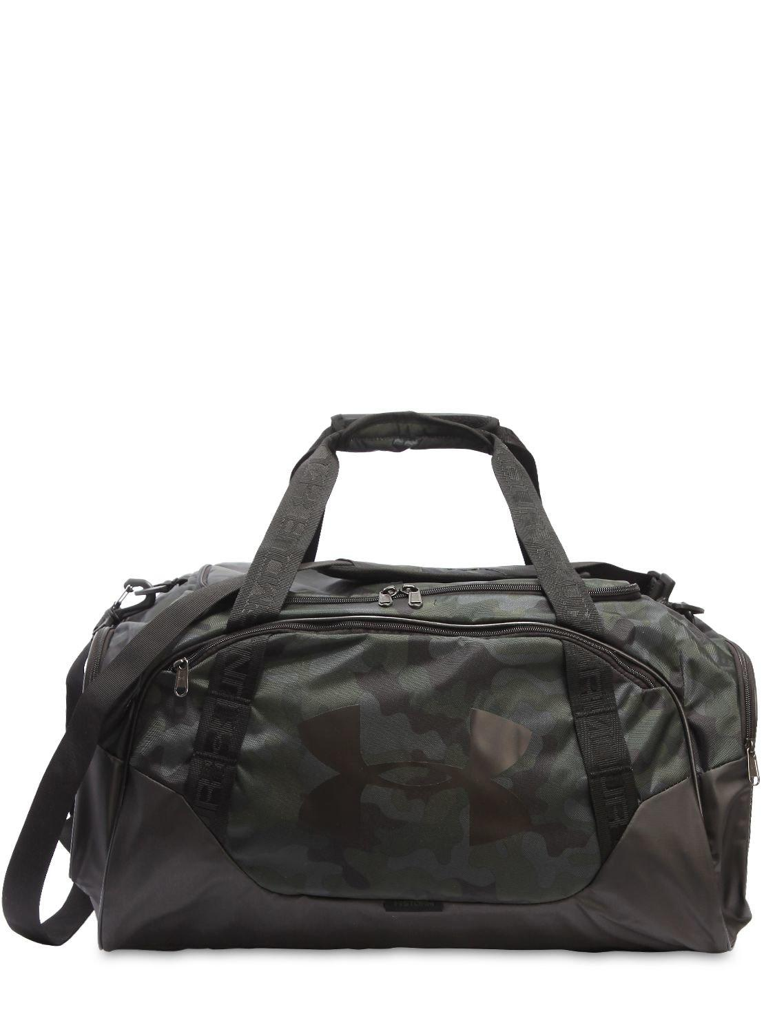 Lyst - Bolsa de deporte de nylon estampado camo 56l Under Armour de ... c80dad23f2cf5