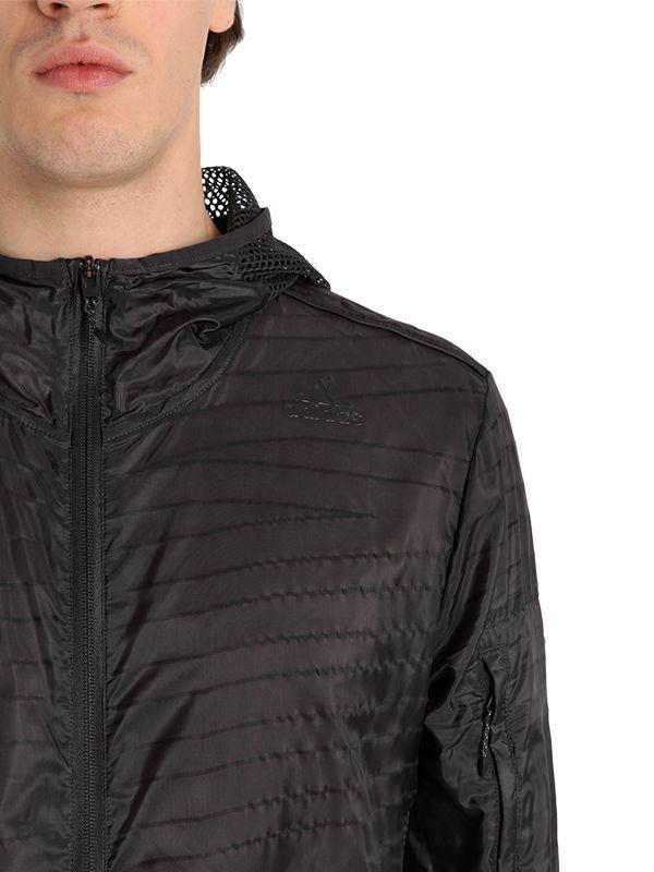 the latest 846f0 8ebae adidas Originals Running Light Jacket in Gray for Men - Lyst