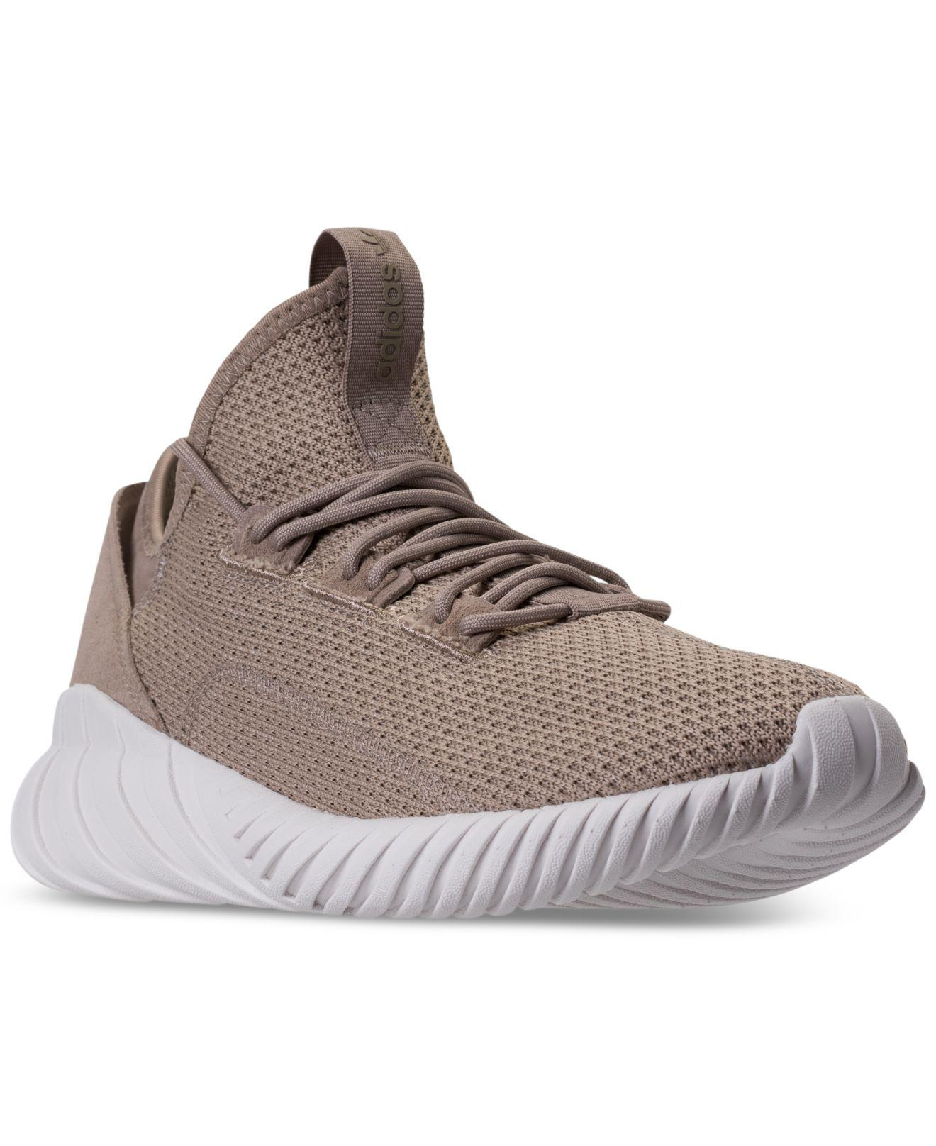 lyst adidas uomini doom sock primeknit casual scarpe da tubuli