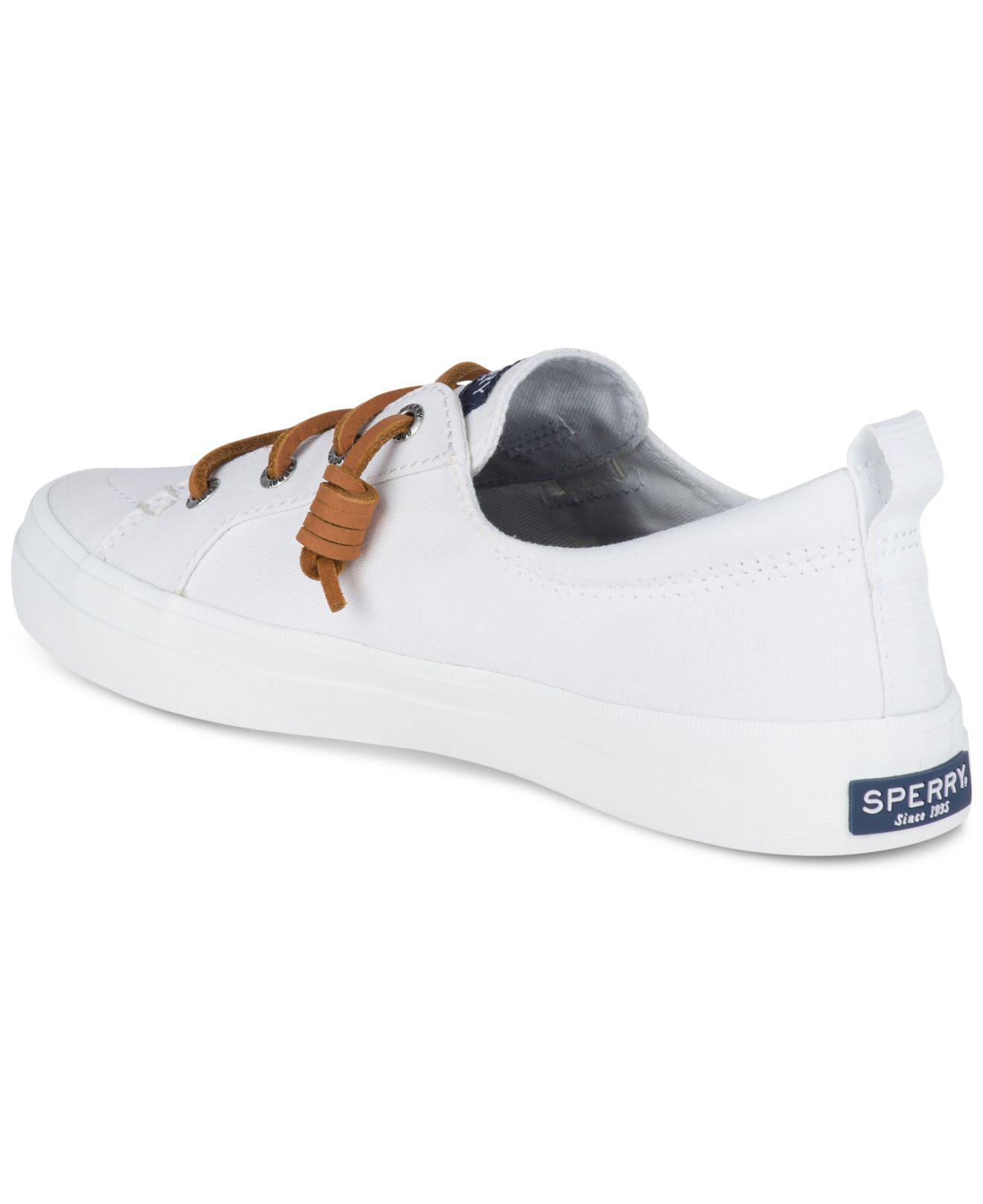 f6064f74ba Sperry Top-Sider Women's Crest Vibe Sneakers in White - Lyst