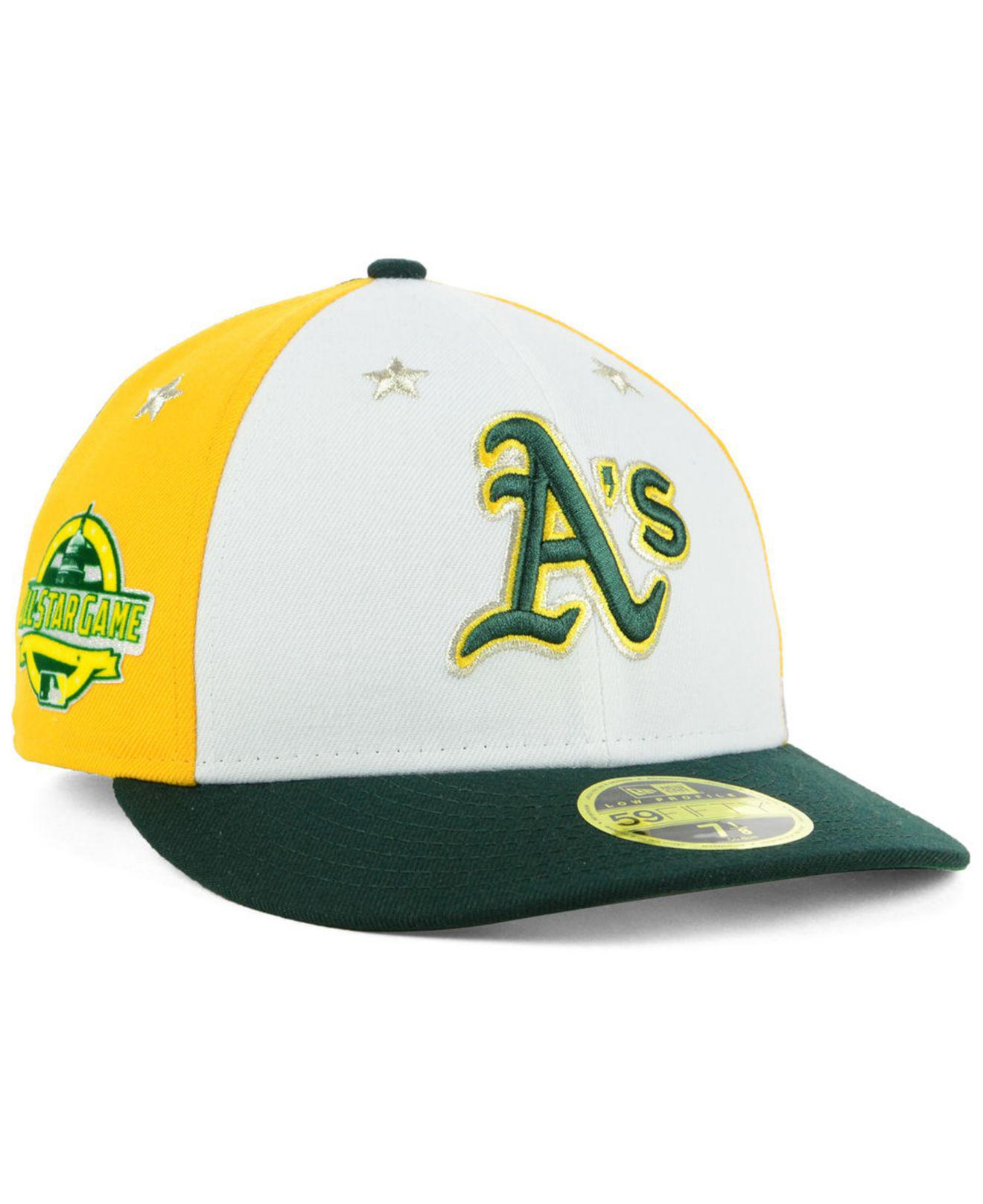 867b510d3eb ... hats new era bb7b0 98251  new style lyst ktz oakland athletics all star  game patch low profile 59fifty 71f2b 7d7d2