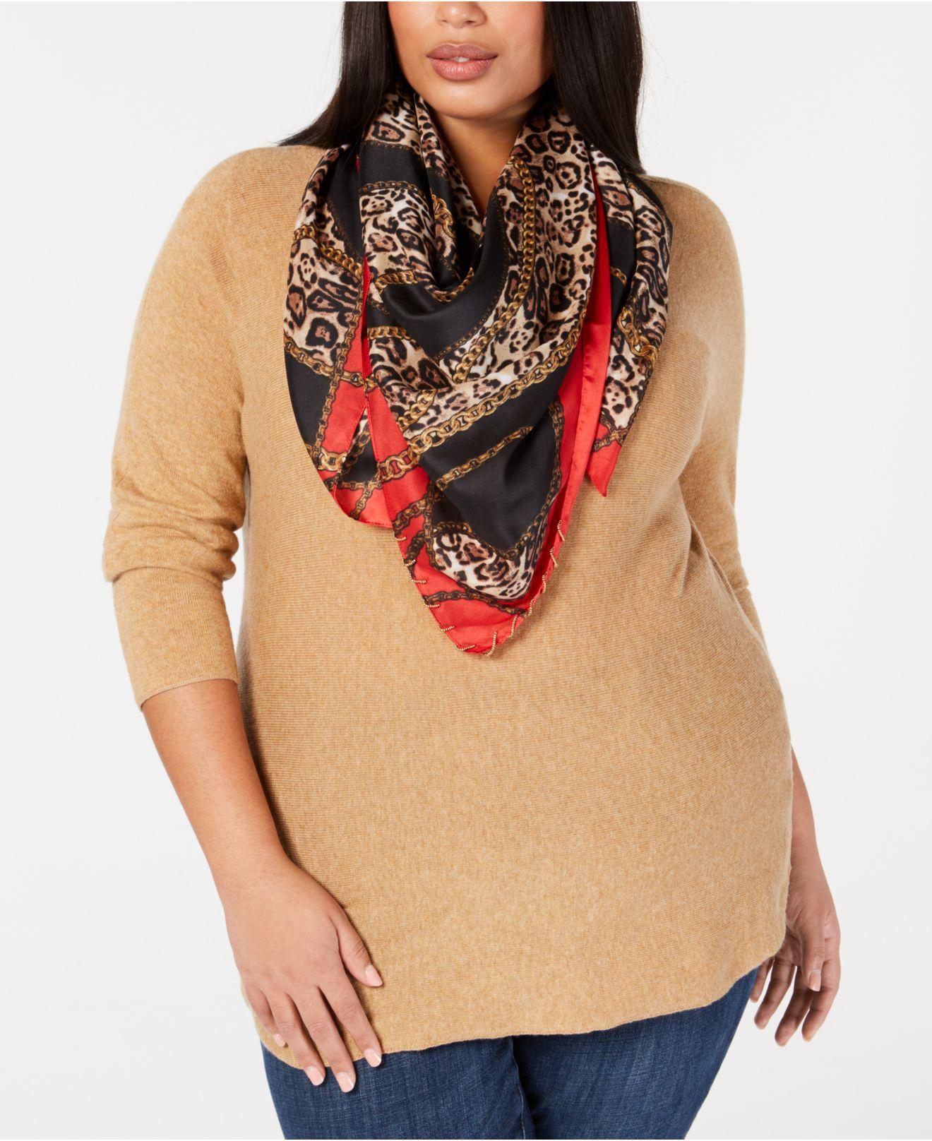 To acquire Infinity leopard scarf macy?s pictures trends