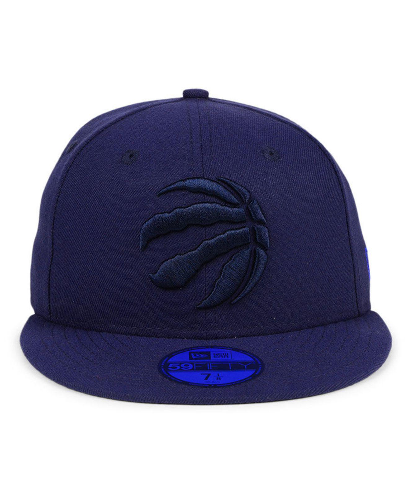 buy popular 57ce4 f1ad0 ... order lyst ktz toronto raptors color prism pack 59fifty fitted cap in  blue for men 2c5a8