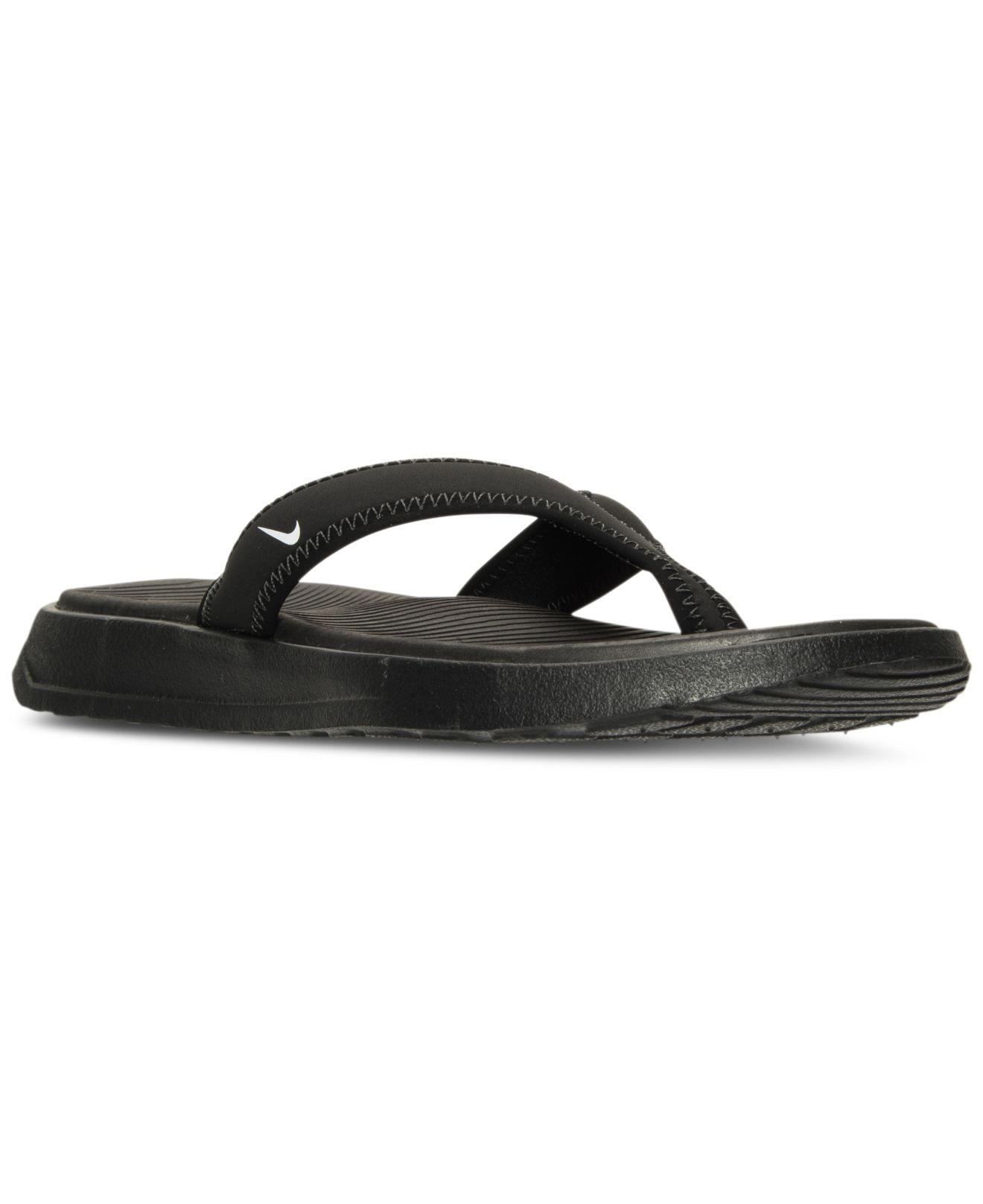 Lyst - Nike Men s Ultra Celso Thong Sandals From Finish Line in ... d79d6a13c