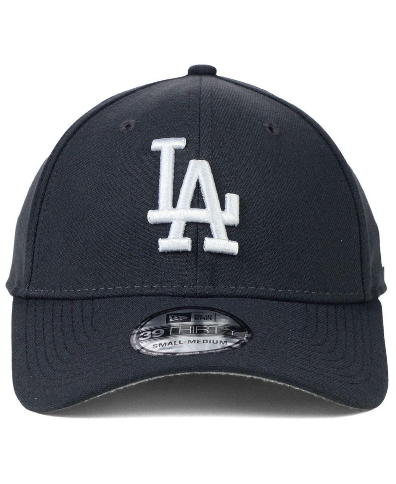 38af7b8f5808f9 KTZ Los Angeles Dodgers Fashion 39thirty Cap in Gray for Men - Lyst