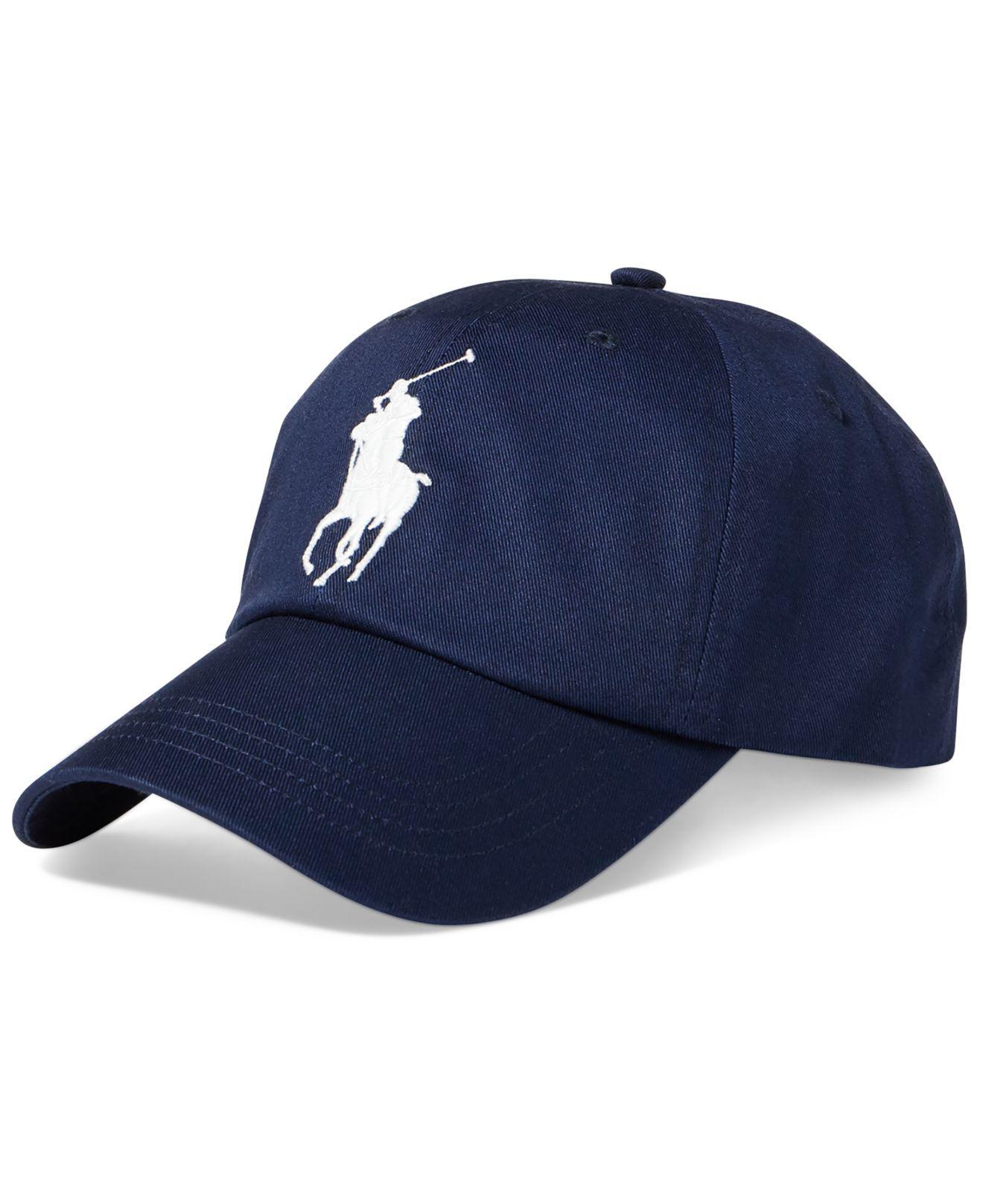 b1bf5fbf8a318 Lyst - Polo Ralph Lauren Men s Chino Sports Cap in Blue for Men ...