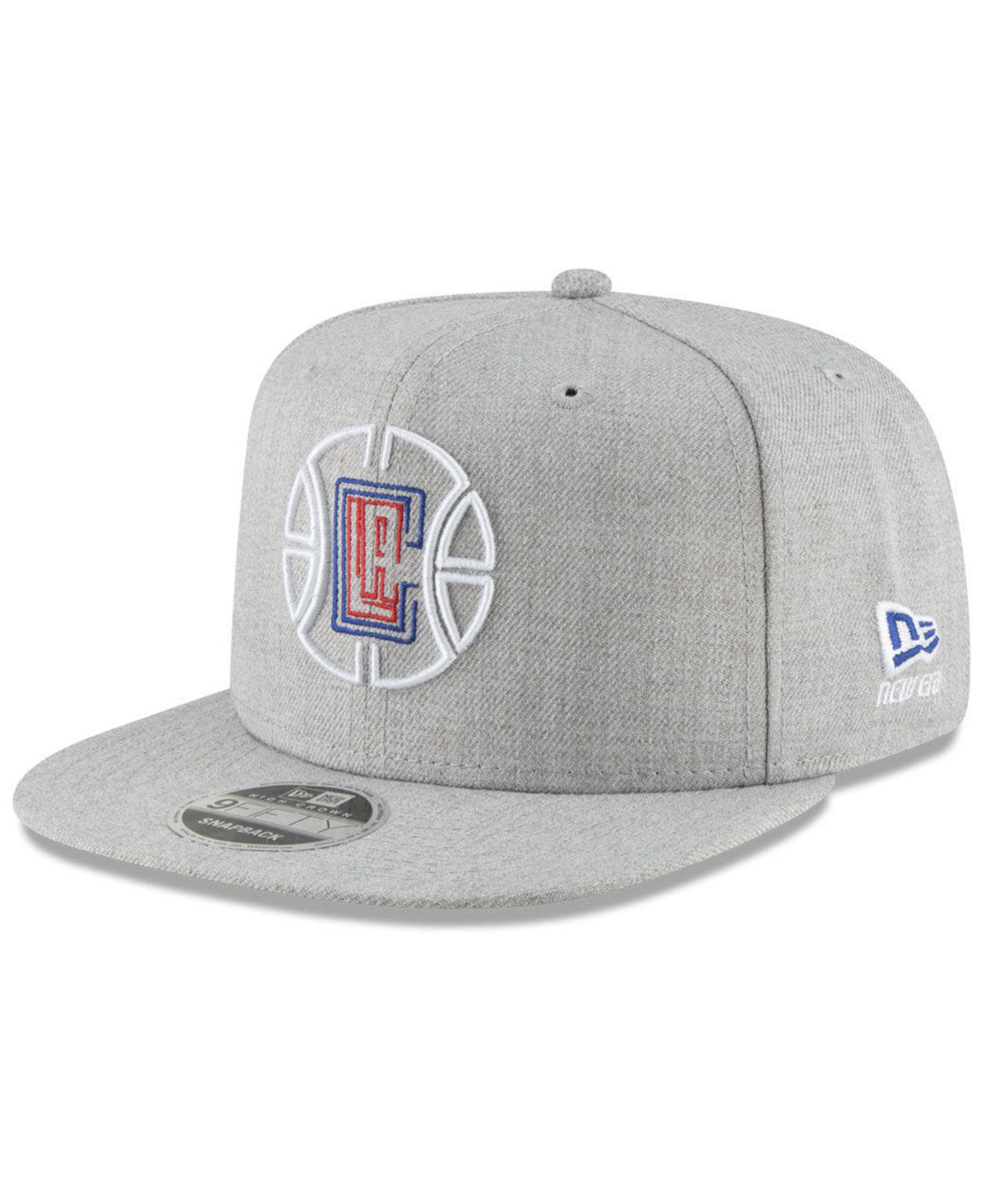 2f914a1ace6 Lyst - Ktz Los Angeles Clippers Logo Trace 9fifty Snapback Cap in ...