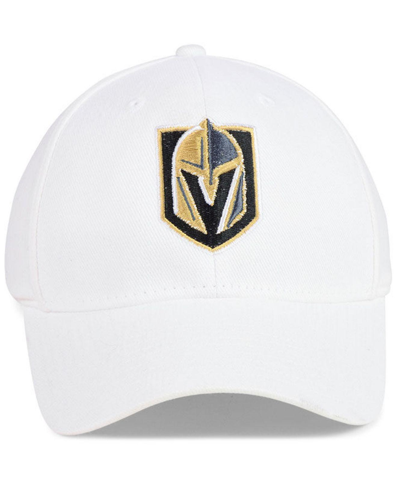 53c89d7c264 Lyst - adidas Vegas Golden Knights Core Flex Stretch Fitted Cap in White  for Men