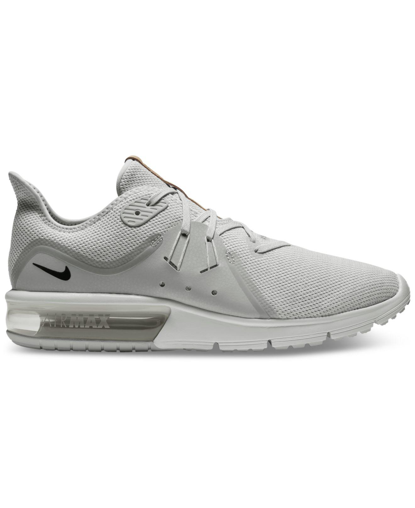 521febe696 Nike Men's Air Max Sequent 3 Running Sneakers From Finish Line for ...