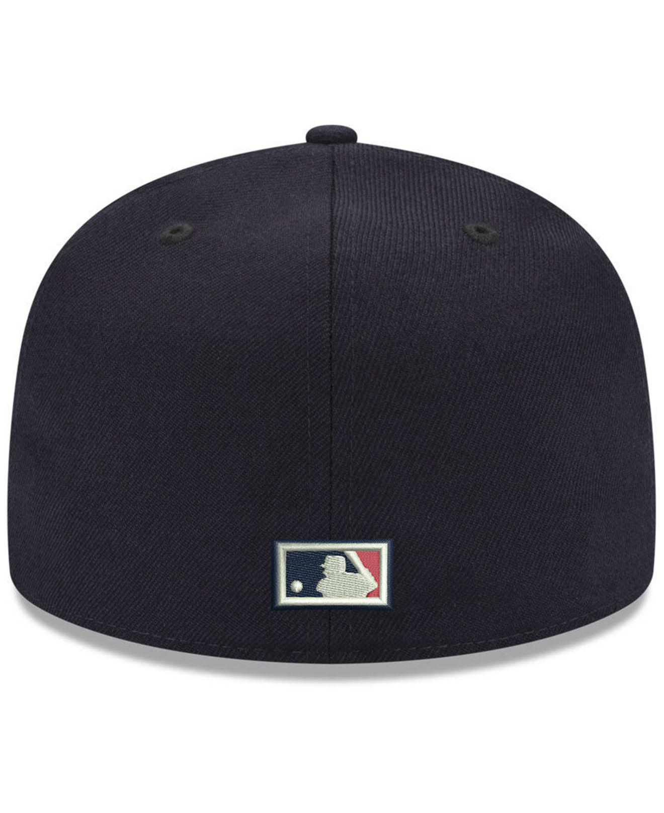 8a7d8fee75c Lyst - KTZ Chicago White Sox League Front 59fifty Fitted Cap in Blue ...