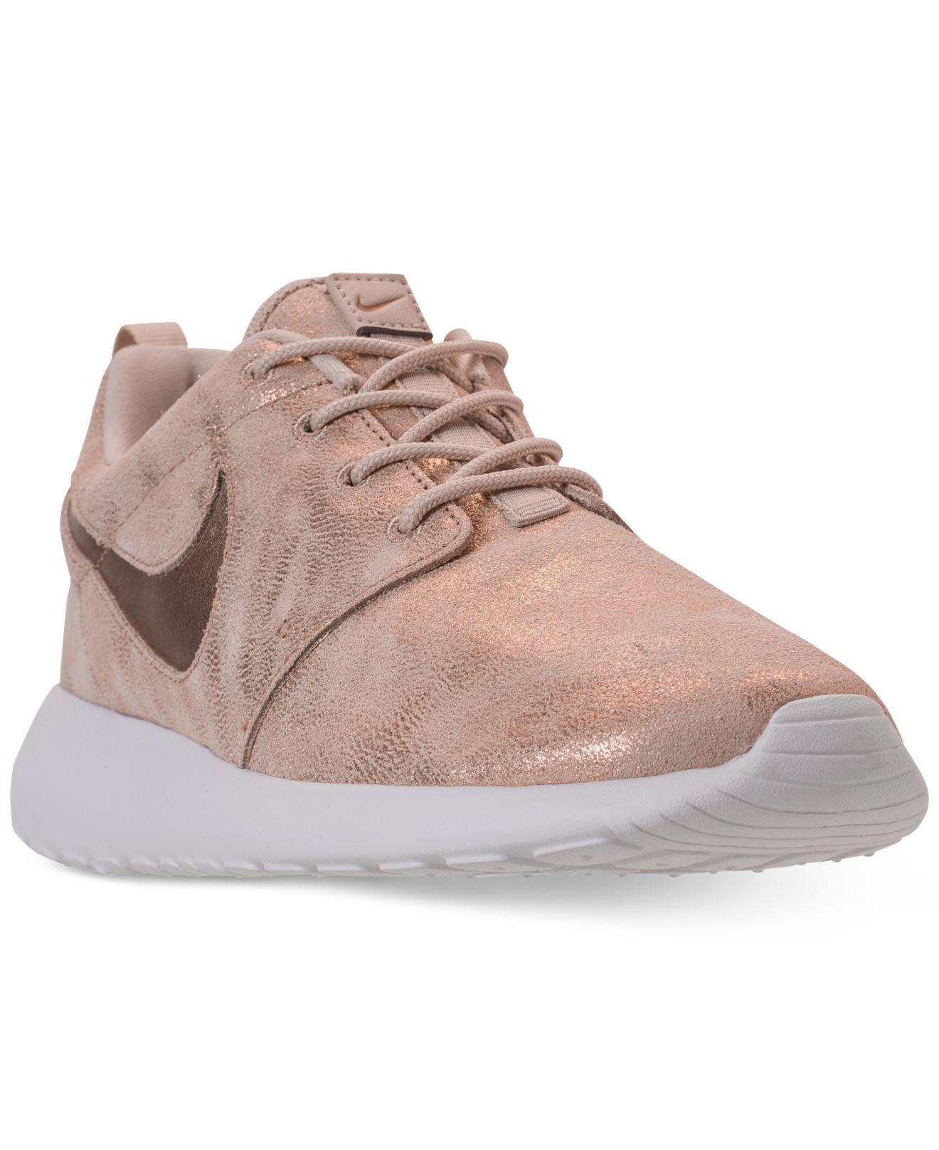373563dd9c3e Lyst - Nike Roshe One Premium Casual Sneakers From Finish Line