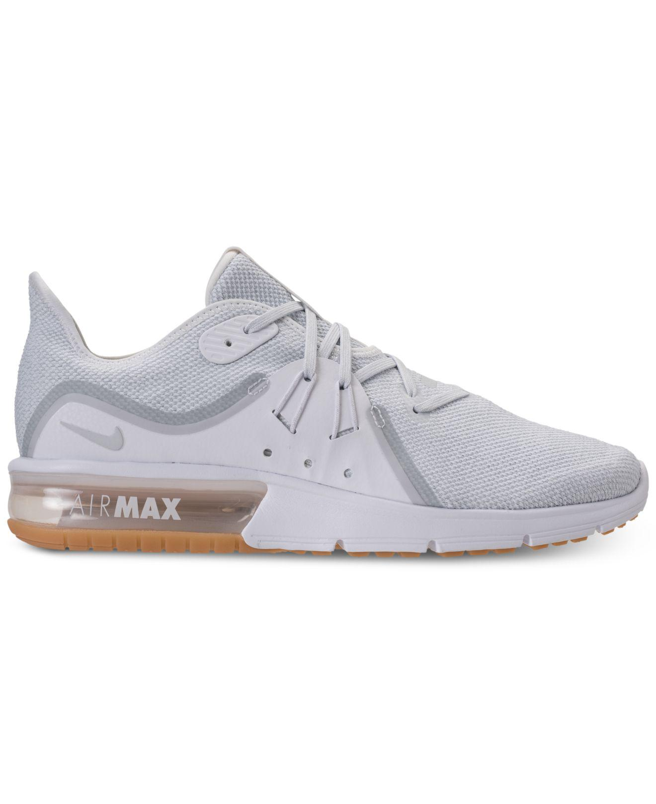 brand new 4c601 8943f ... sale lyst nike air max sequent 3 running sneakers from finish line for  men e3398 7066a