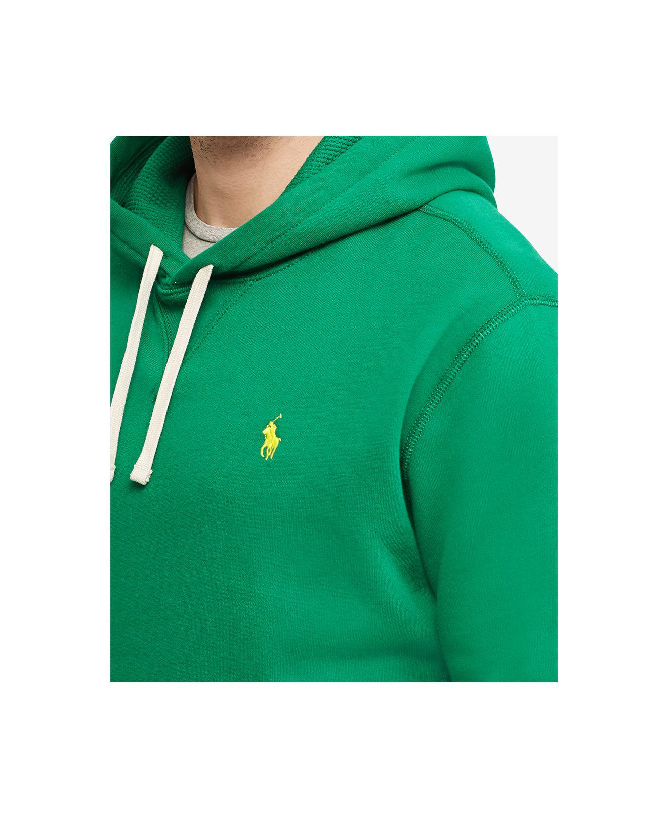 60cf22d6016b ... usa lyst polo ralph lauren fleece hoodie in green for men 35017 49337