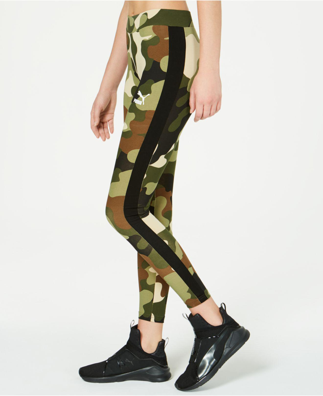 f3c560080c85 PUMA - Green Wild Pack T7 Leggings (forest Night) Casual Pants - Lyst. View  fullscreen