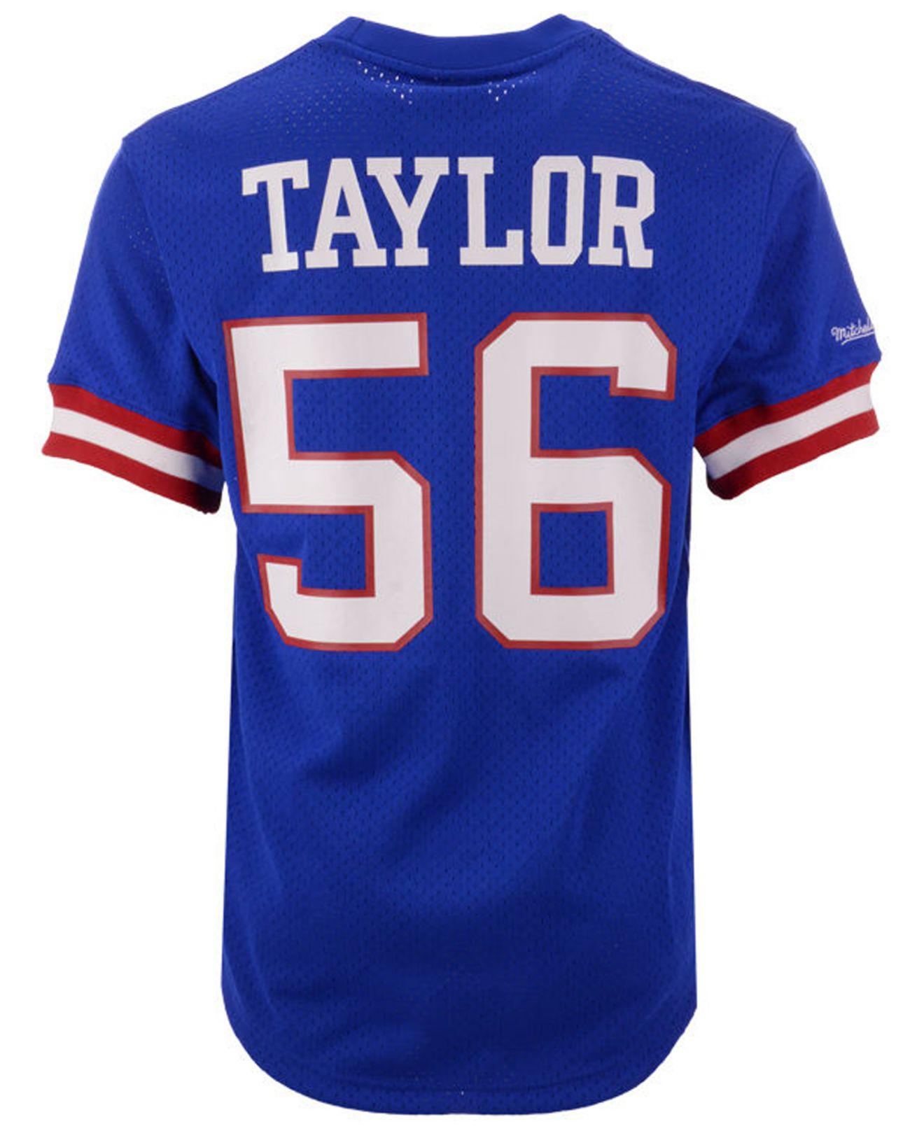 Lyst - Mitchell   Ness Lawrence Taylor New York Giants Mesh Name And Number  Crewneck Jersey in Blue for Men 6cbfad804