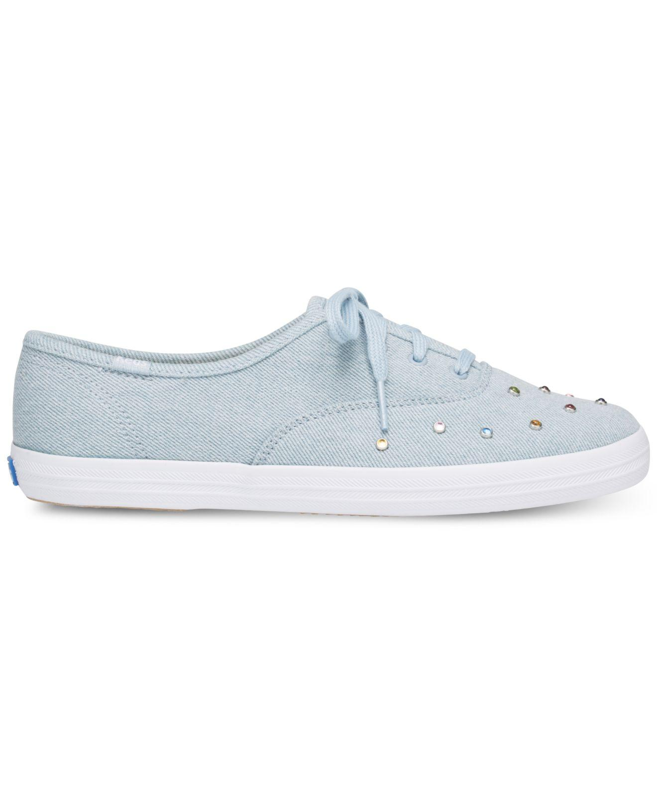 f07eb3ff0363a Lyst - Keds Champion Starlight Stud Sneakers in Blue