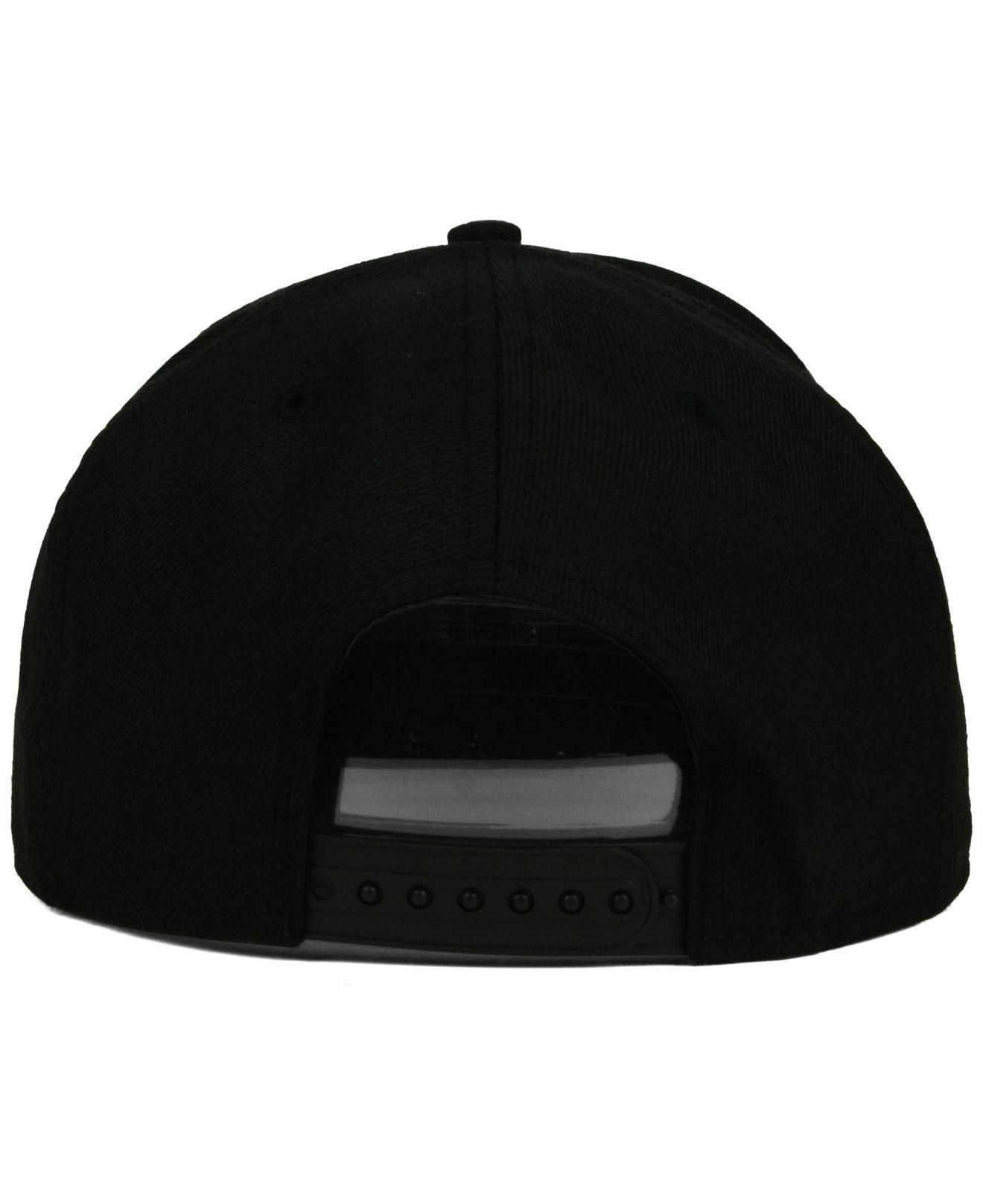 sale retailer abbfb 45fad KTZ Minnesota Twins Black White 9fifty Snapback Cap in Black for Men - Lyst