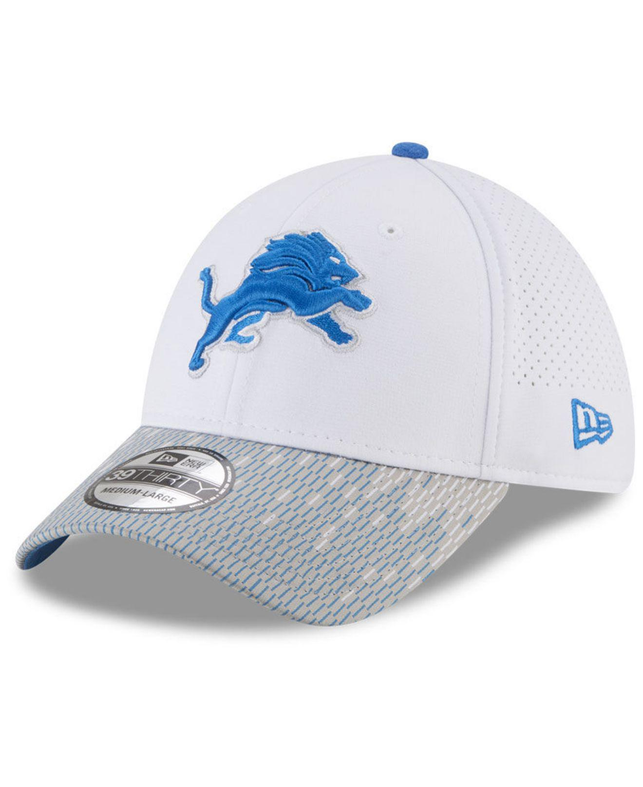 Lyst - Ktz Detroit Lions Equalizer 39thirty Cap in Blue for Men 9db1872ef186
