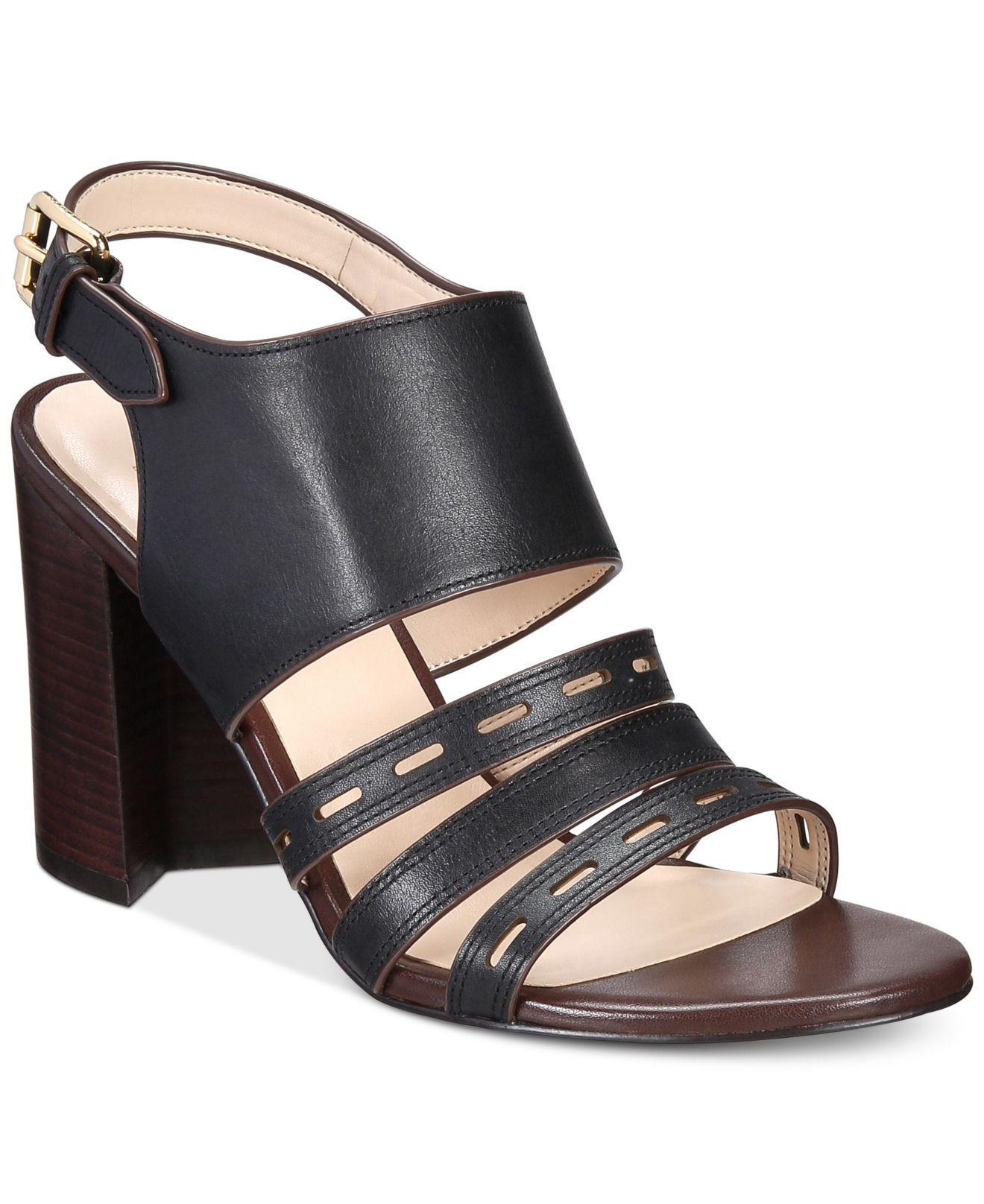 e9a736d1213 Lyst - Cole Haan Lavelle Block-heel Sandals