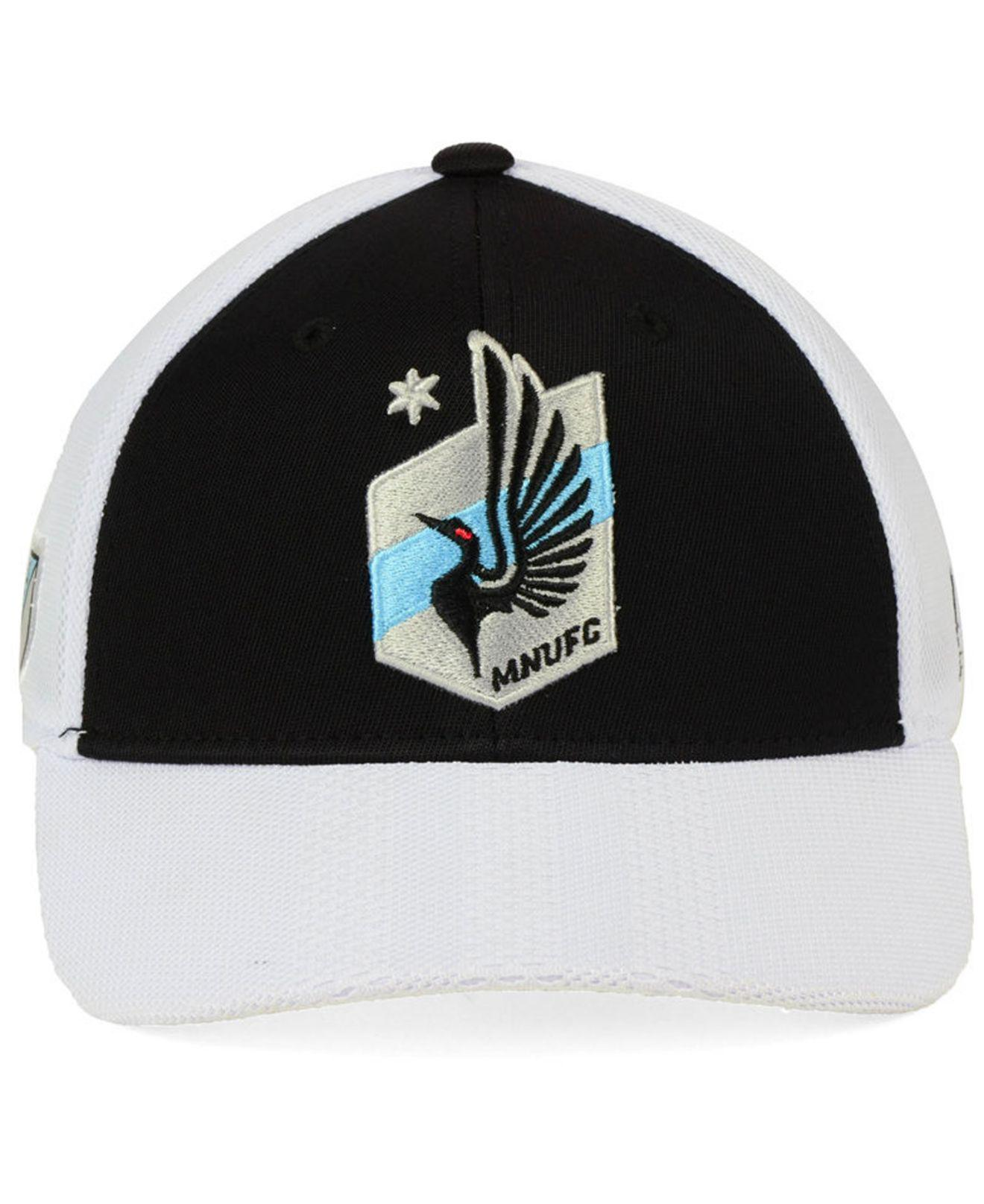 online shop famous brand most popular coupon code minnesota united fc adidas mls bleached trucker cap ...