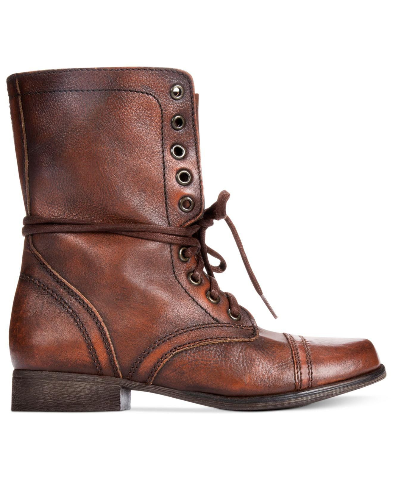 4540af36cb7 Lyst - Steve Madden Troopa Boots in Brown