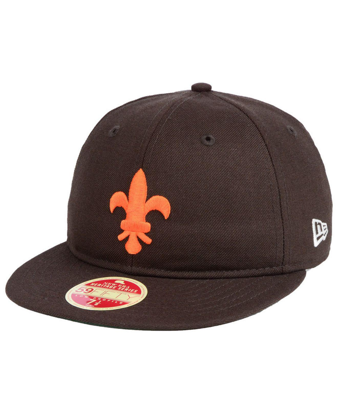 buy popular 183a8 2497d ... official store ktz st. louis browns heritage retro classic 59fifty  fitted cap for men lyst
