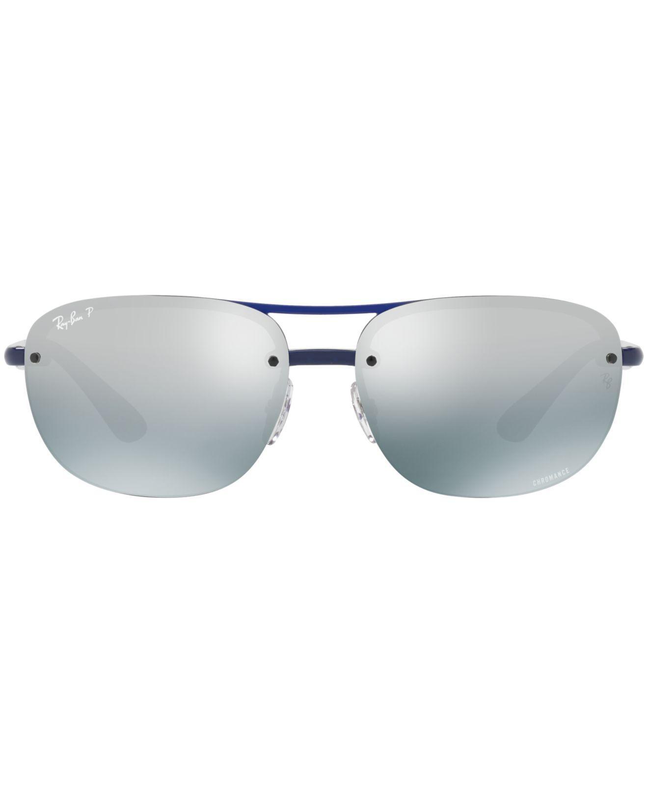 400181b7e8 Lyst - Ray-Ban Polarized Chromance Collection Sunglasses