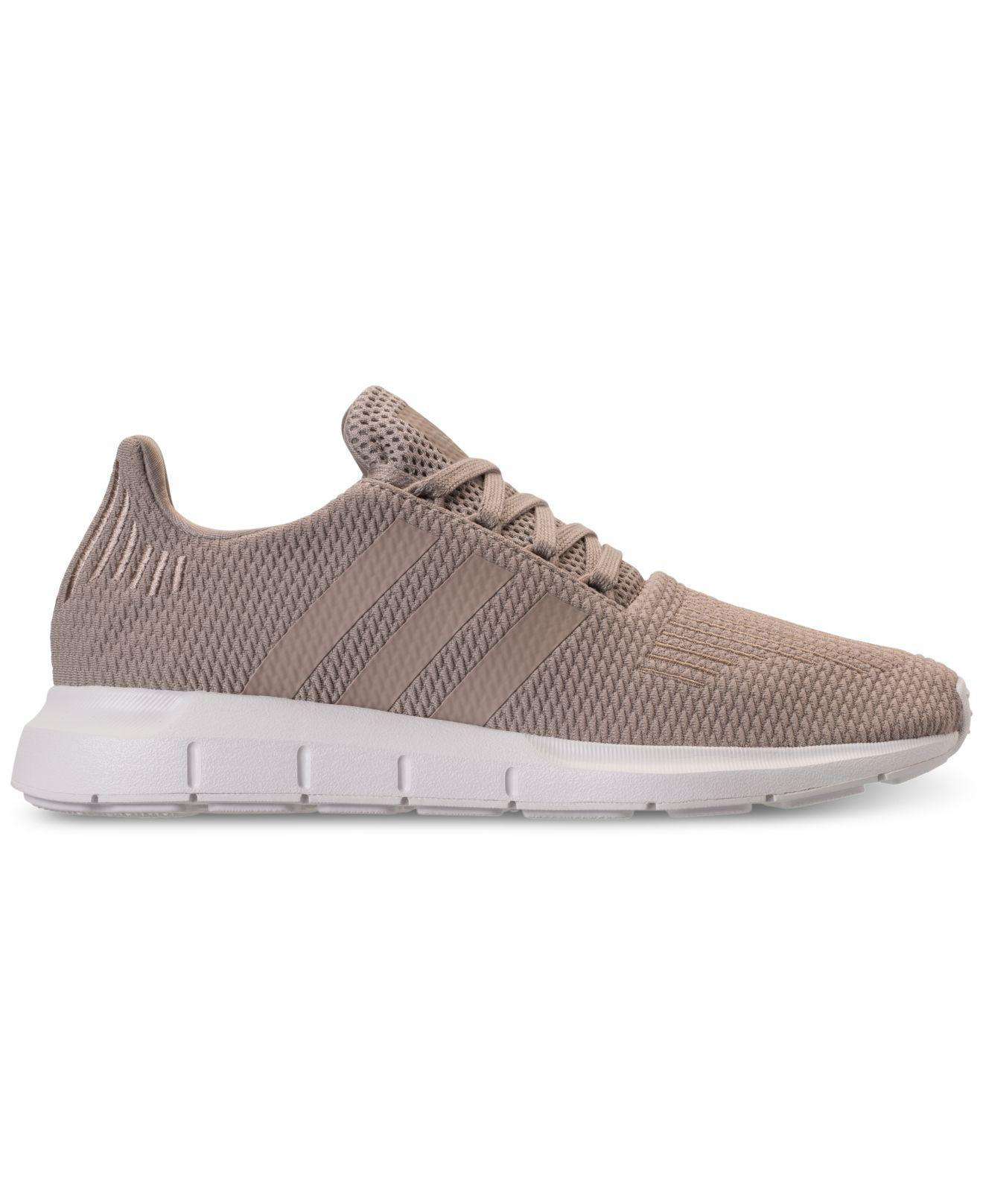 1db49cb4aec1d Lyst - adidas Swift Run Casual Sneakers From Finish Line in Gray