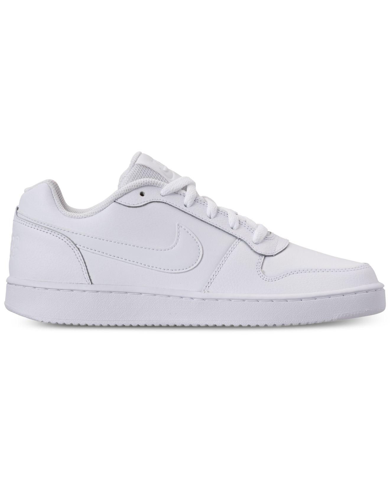 Lyst - Nike Ebernon Low Casual Sneakers From Finish Line in White for Men 9df4587cf8