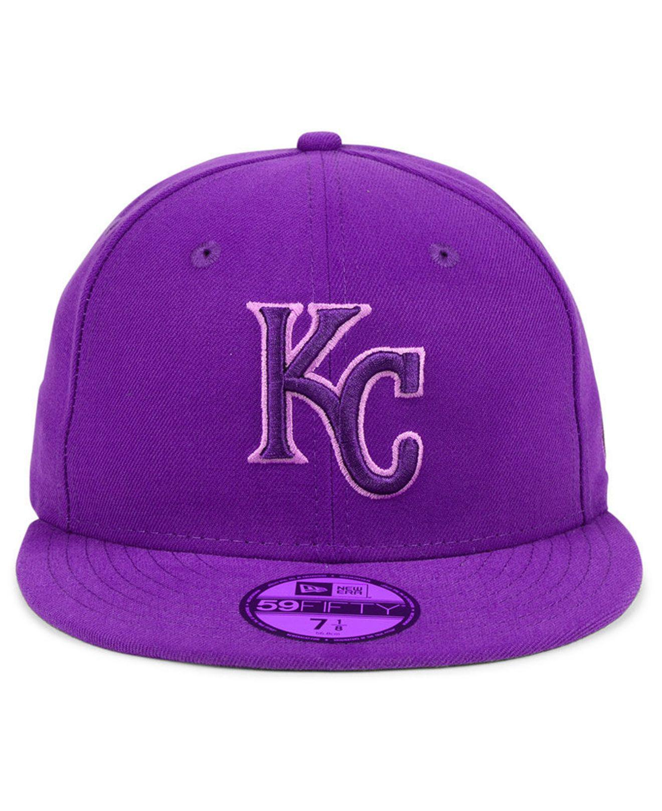 best loved dd690 9db90 1915b b7fac  new arrivals lyst ktz kansas city royals prism color pack 59fifty  fitted cap in 93c58 656ea