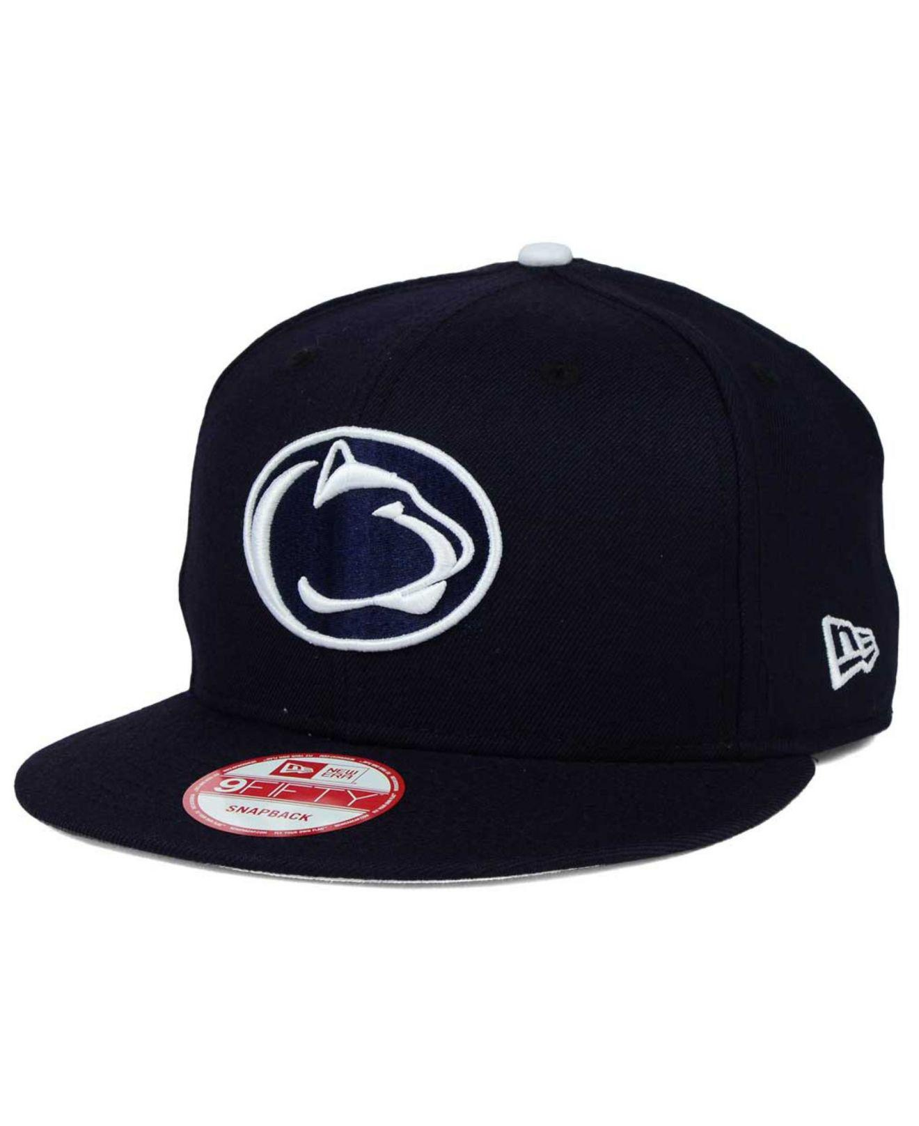 fb641a23c37 Lyst - Ktz Penn State Nittany Lions Core 9fifty Snapback Cap in Blue ...