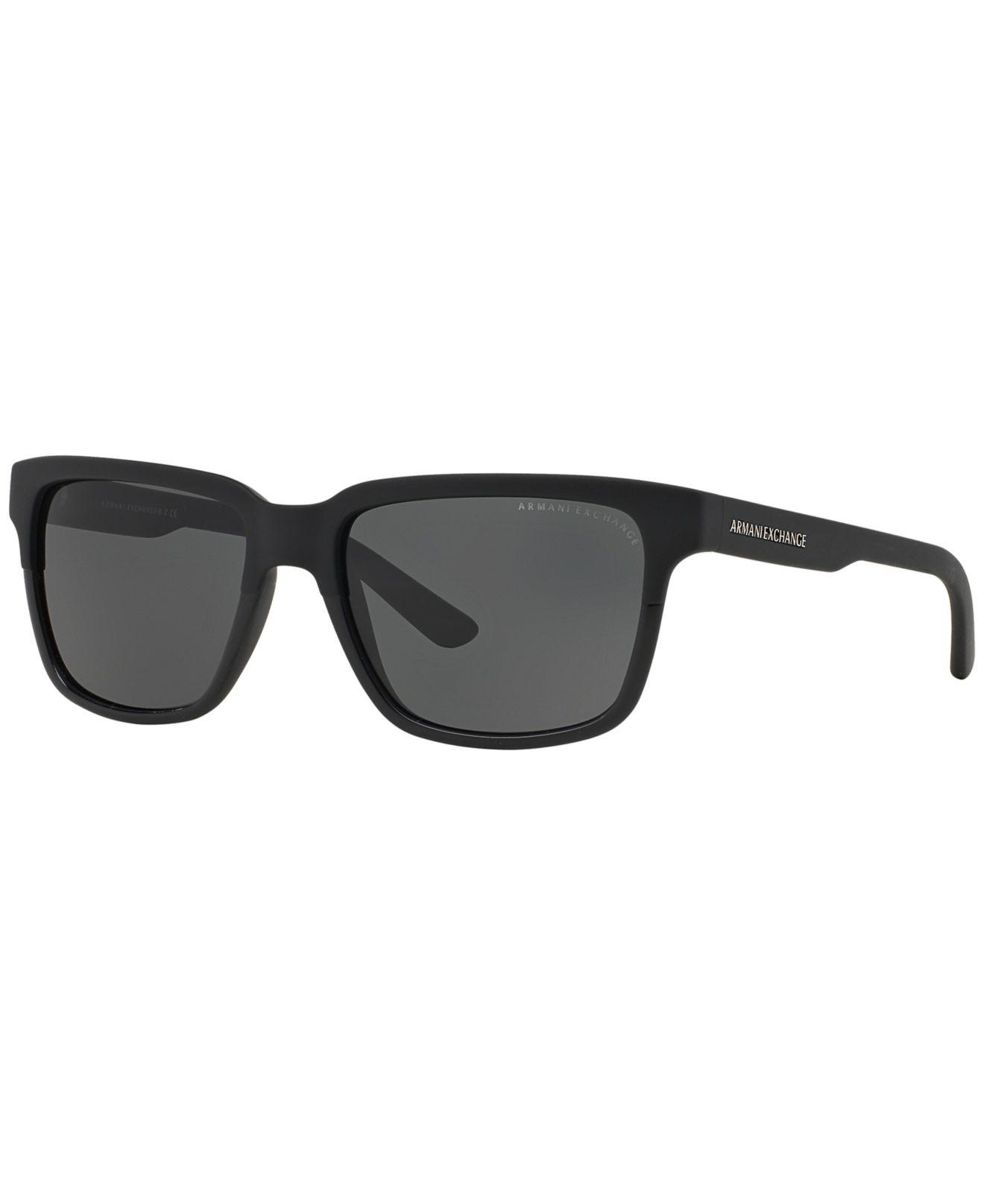 e93579fd687 Lyst - Armani Exchange Ax Sunglasses