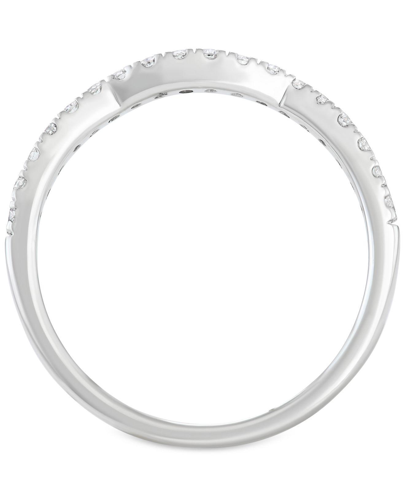 Macy s Diamond 3 pc Halo Quad Bridal Set 2 Ct T w In 14k