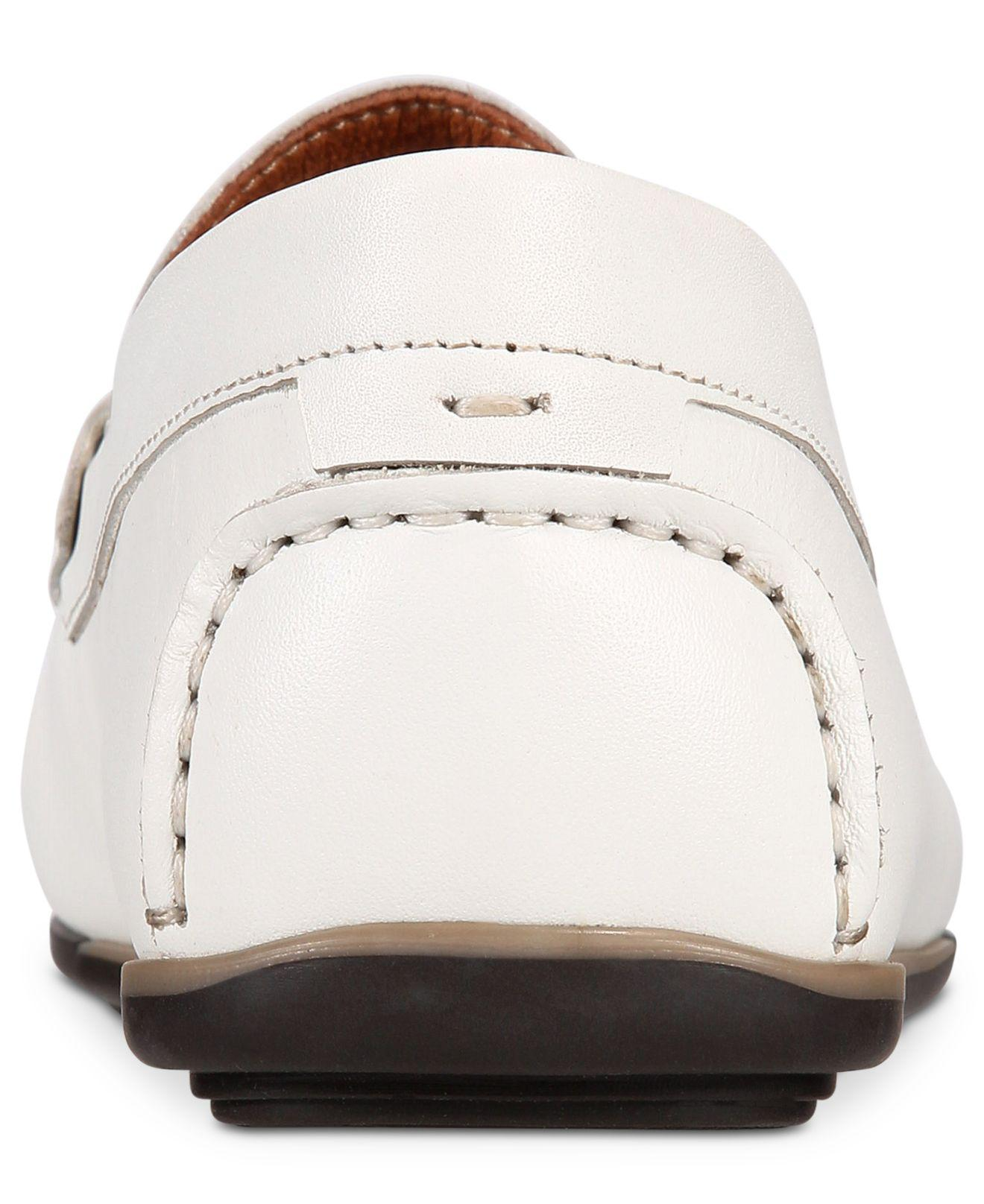 711a8d947a45c Lyst - Alfani Men s Will Penny Drivers in White for Men