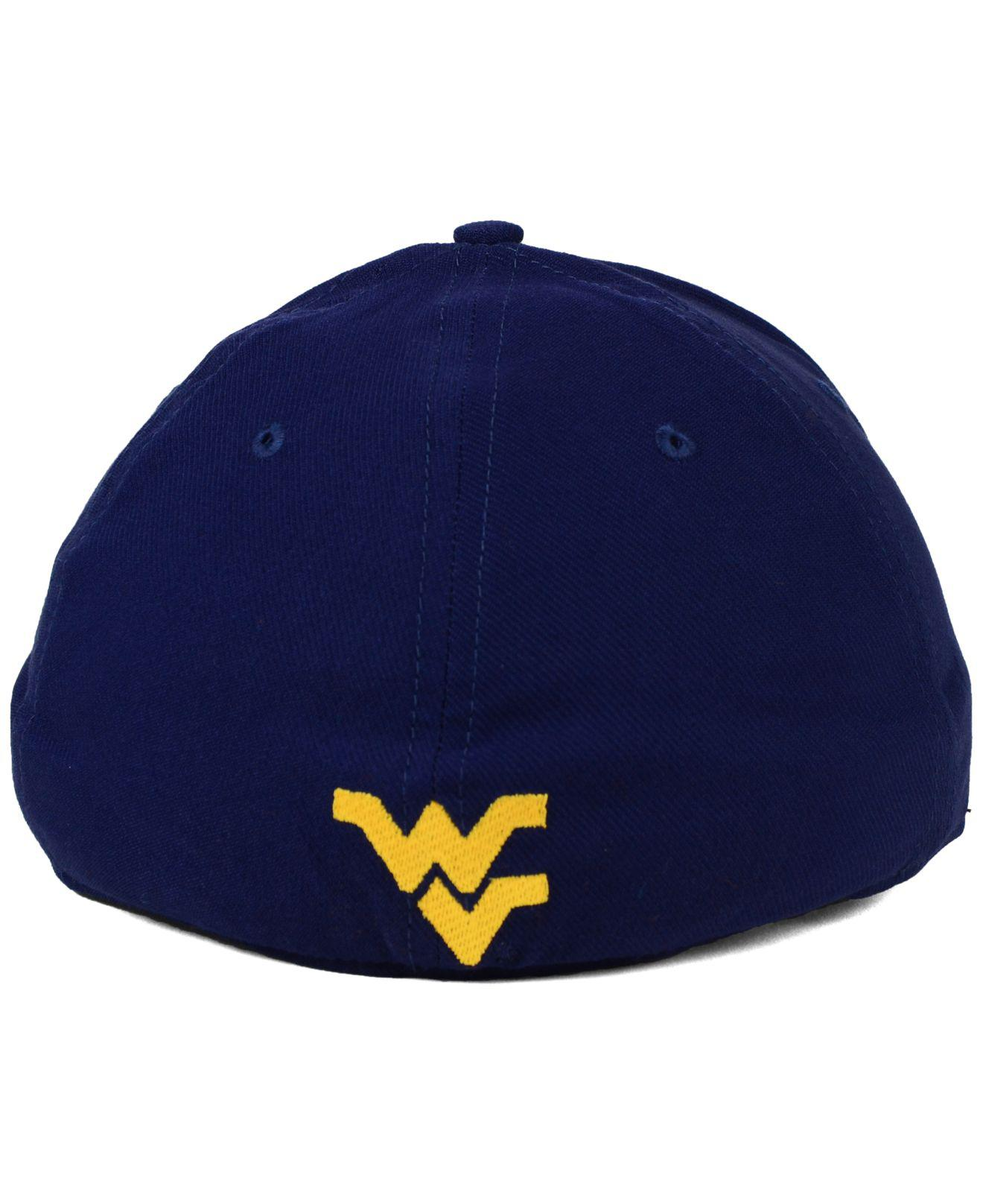 911a9493d06 ... order nike blue west virginia mountaineers classic swoosh cap for men  lyst. view fullscreen 5b46d